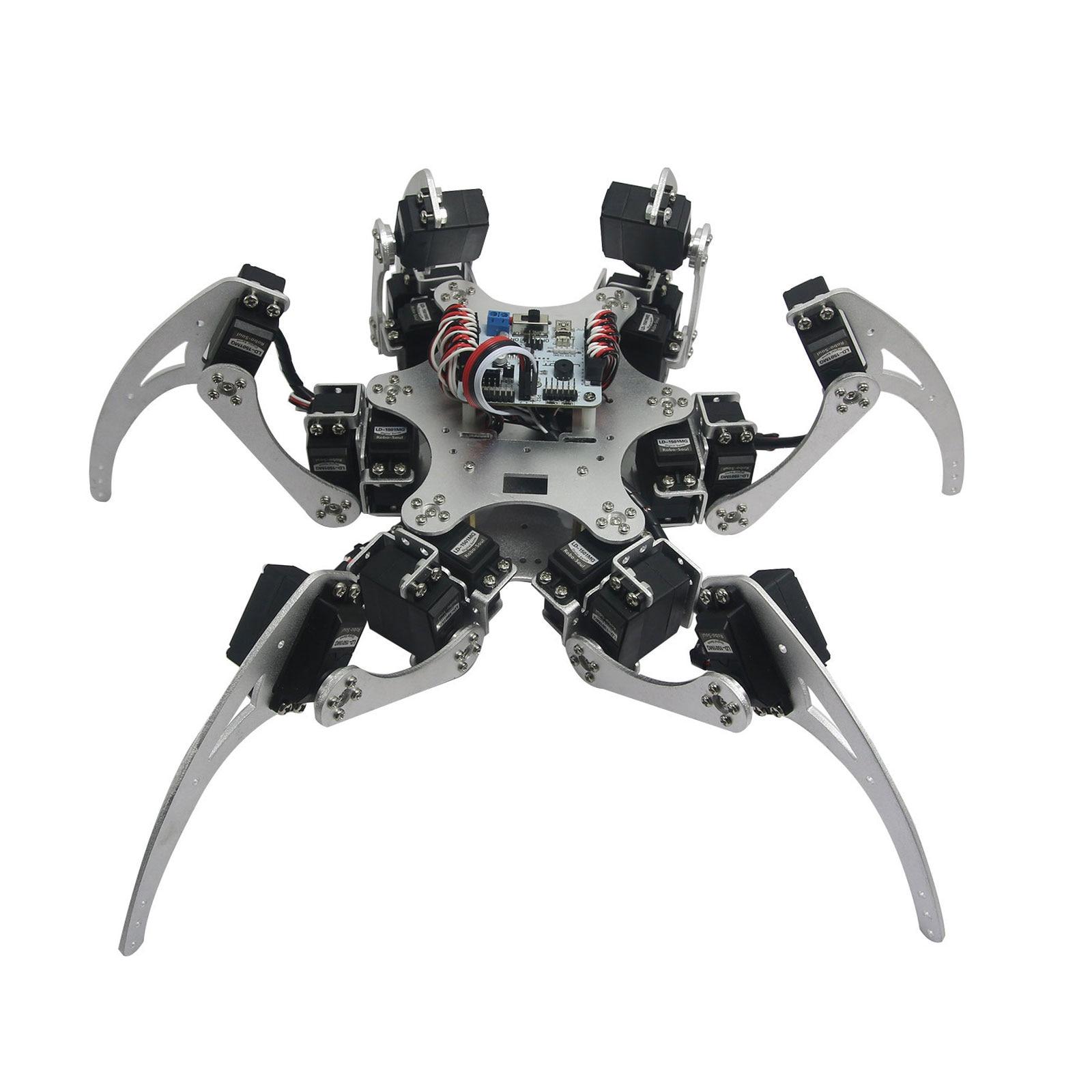 Aluminium robotic hexapod spider six dof legs robot frame