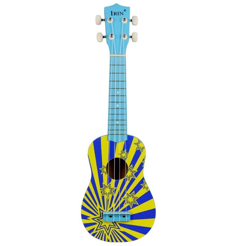 IRIN 21 inch 15 Frets Soprano Ukulele Uke 4 Nylon Strings Basswood Guitar Universal Acoustic InstrumentIRIN 21 inch 15 Frets Soprano Ukulele Uke 4 Nylon Strings Basswood Guitar Universal Acoustic Instrument