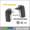 48 В 0.5A POE Инжектор для CCTV Ip-камера США или ЕС Инжектор Power Over Ethernet POE Коммутатор Ethernet Адаптер POEB48E