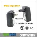 48 В 0.5A POE инжектор для CCTV IP камера США или ЕС мощность через Ethernet Инжектор POE коммутатор Ethernet адаптер POEB48E