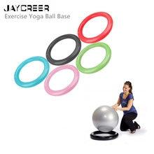 JayCreer Base Manter o Equilíbrio Bola Yoga Exercício Bola de Estabilidade  Estável Adequado Para 55-85 CM 042f6f01082f