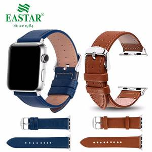 Eastar Leather Watchband Sport Bracelet Strap For iwatch