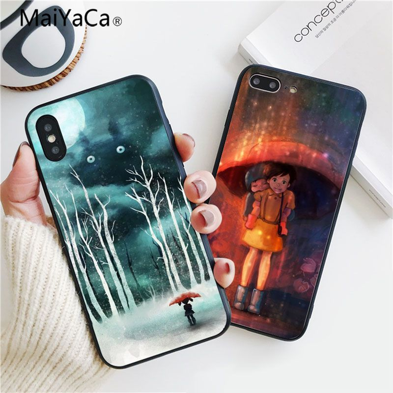 Phone Bags & Cases Liberal Maiyaca Love Anime Novelty Phone Case Cover For Apple Iphone 7 7plus X 8 8plus 6s 6 6plus 5 5s 5c To Invigorate Health Effectively Half-wrapped Case