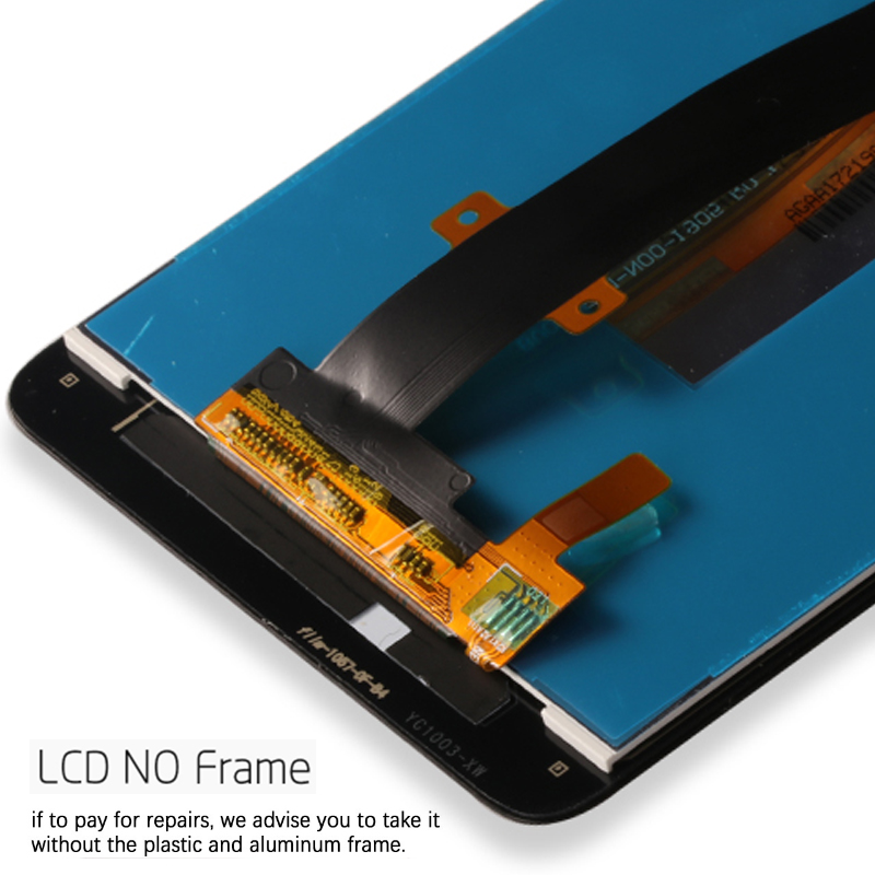Display For Xiaomi Redmi Note 3 LCD Touch Screen Soft-key Backlight/Frame for Redmi Note 3 Pro Display 150mm Standard Edition