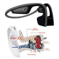 2018 Yeni Çok Fonksiyonlu LF-19 Kablosuz Kemik Iletim Bluetooth arkasında Boyun Style Kulaklık Kulaklık için Açık Spor