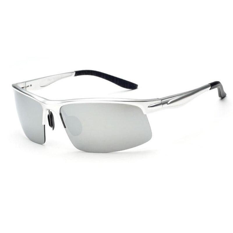Jomolungma поляризованные очки для рыбалки для мужчин и женщин с корпусом из алюминиевого магниевого сплава уличные спортивные солнцезащитные очки PG880 - Цвет: Grey