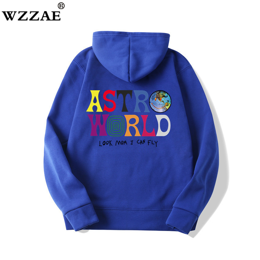 Fashion Letter ASTROWORLD HOODIE street wear Man woman Pullover Sweatshirt 24
