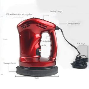 Image 5 - Mini máquina del pulidor de coche pulido y encerado, 12V, 80W, herramienta para el cuidado de la pintura del coche, lijadora de 150mm
