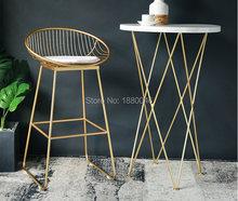 Высокое качество 42 см/62 см/72 см скандинавский барный стул