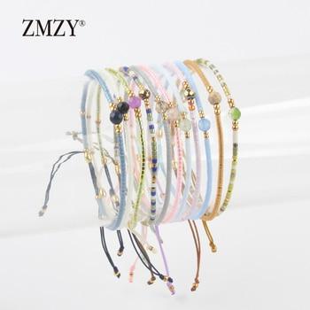 ZMZY Miyuki Delica Seed Beads Women Bracelets Friendship Jewelry Fashion Diy Bijoux
