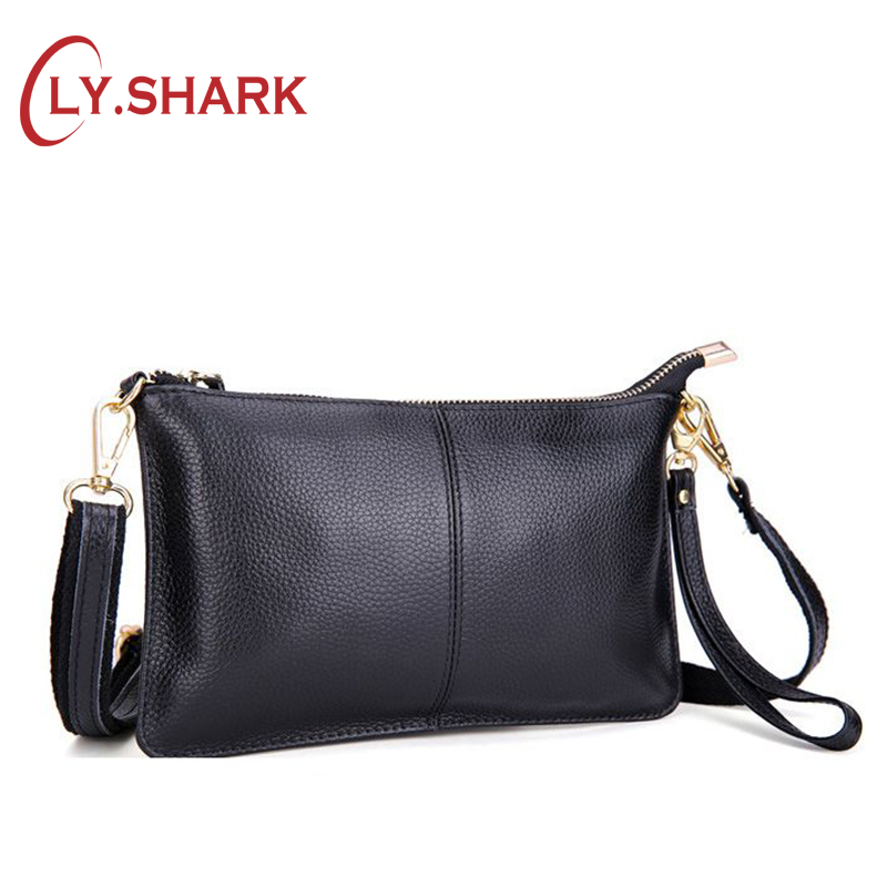 LY.SHARK Genuine Leather Bag Women Small Crossbody Bags For Women 2019 Messenger Shoulder Bag Clutch Ladies Hand Bags Summer Red