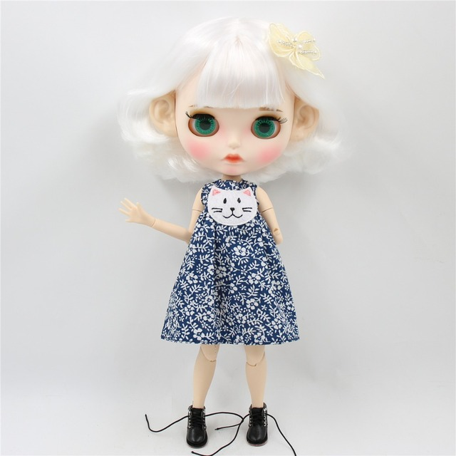 Natalie – Premium Custom Blythe Doll with Clothes Pouty Face