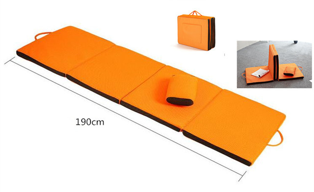 Us 65 55 5 Off Indoor Outdoor Folding Chaise Lounge Cushion Bed Sleeper For Home Or Garden Beach Picnic Patio Bench Sun Lounger Foldable In Sun