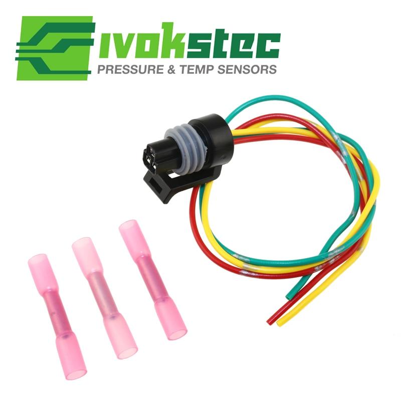 6.0 6.0L For Ford Powerstroke Diesel Exhaust Back pressure EBP Sensor Pigtail