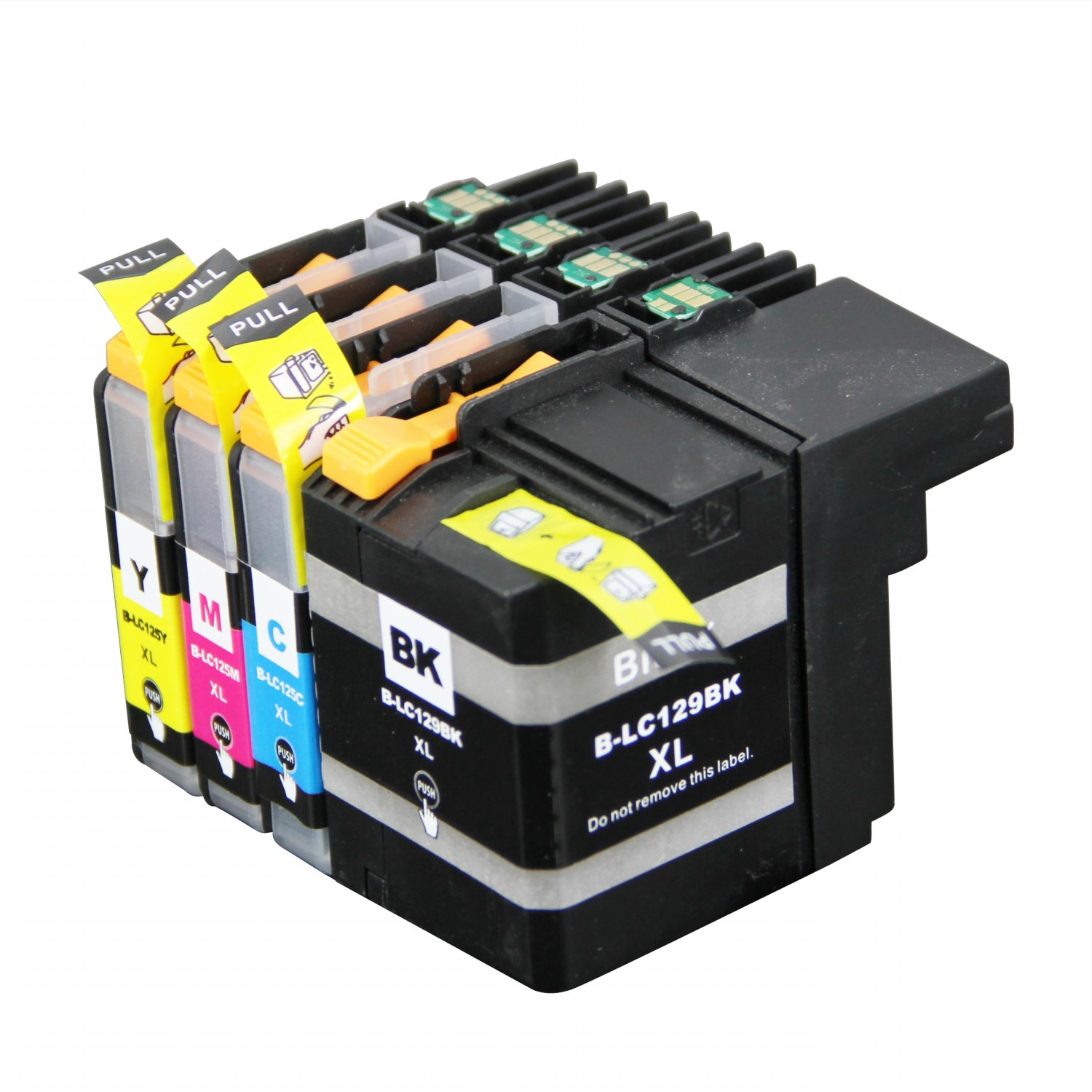 45x Compatible Ink Cartridge for Brother LC129 LC125 C M Y suit For Brother inkjet Printer