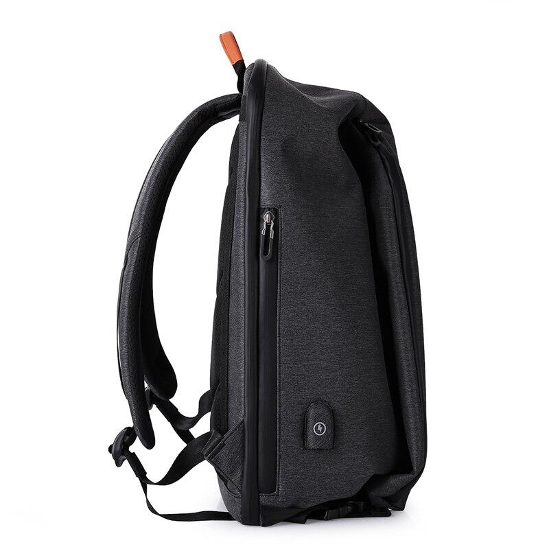 Bagaj ve Çantalar'ten Sırt Çantaları'de KAKA Moda Erkekler Sırt Çantası USB Şarj 16.5 inç Laptop Sırt Çantaları Öğrenci okul sırt çantası seyahat sırt çantası kadın büyük kapasiteli'da  Grup 3