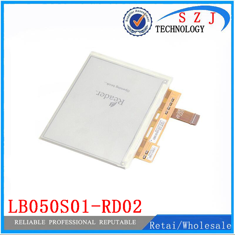 Original 5'' inch LB050S01-RD02 Ebook E-ink lcd screen LB050S01 for sony prs-350 Reader LCD display Free shipping lc150x01 sl01 lc150x01 sl 01 lcd display screens