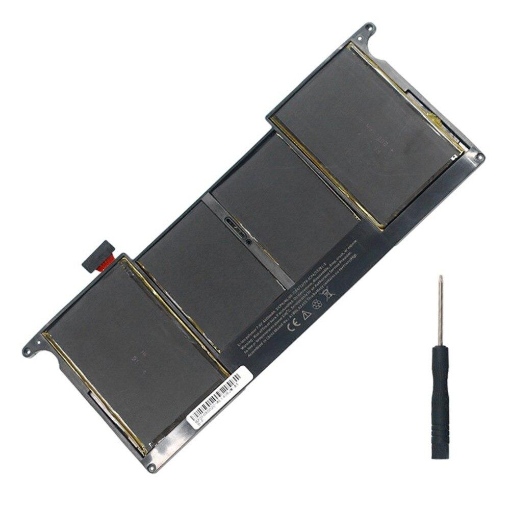 5200 mah 7.3 v Ordinateur Portable Portable Batterie De Remplacement Approprié pour MacBook Air 11 pouce pour Modèle A1370 A1465 Ordinateur Portable de Baisse gratuite