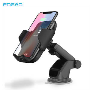FDGAO Wireless-Charger Fast-Charging-Phone-Holder Automatic-Clamping Qi Car iPhone 11