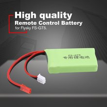 7.4V 1500mAh Rechargeable Remote Control Lithium Battery Transmitter Battery for Flysky FS-GT5 RC Models Parts Toys Battery high quality black white frsky accst taranis q x7 transmitter spare part protective remote control cover shell for rc models