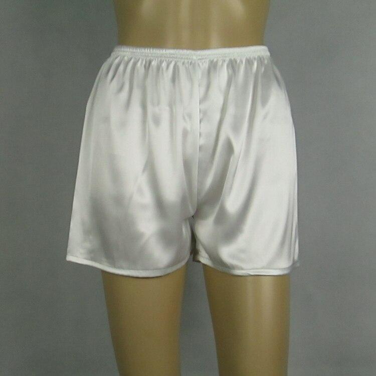 Women's Pajama Pants Summer Sleep Bottoms Faux Silk Home Pajama Pants Womens Sleep Shorts Pyjama Trousers Plus Size S-XXXL Q337 1