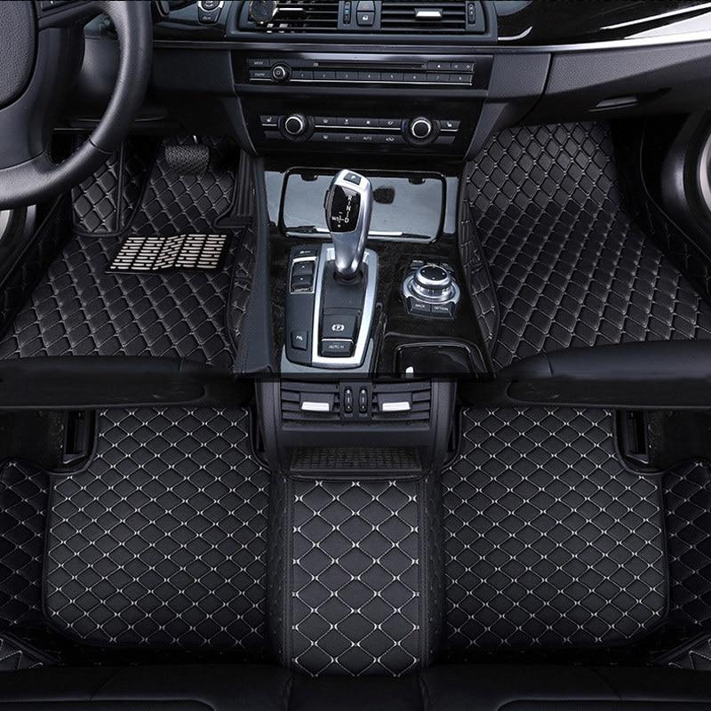 car floor mat carpet rug ground mats leather accessories for Mercedes W213 S W221 W222 GLA GLK X204 GLC 2018 2017 2016 2015 2014