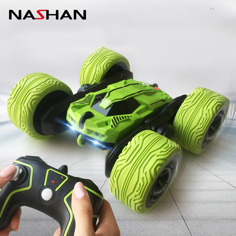 1/16 RC Car 2.4G 4CH Stunt Drift Deformation Buggy Car Rock Crawler Roll Car 360 Degree Flip Kids Robot RC Cars Toys for Gifts fma full founction pro