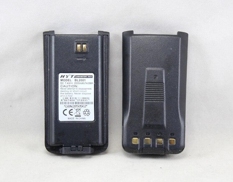bilder für HYT BL2001 BL-2001 Wiederaufladbare Li-Ion Akku 2000 mAh für HYTERA TC-610 TC-618 TC610 TC-626 TC-610P TC610S Dicker als BL1204
