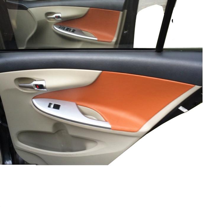 Protective Car Modified Accessories Interior Door Panel Microfibre