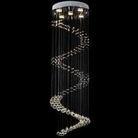 LED Crystal Chandeliers Living Room lustres de cristal Decoration Pendants and Chandelier Home Indoor Lamps VALLKIN