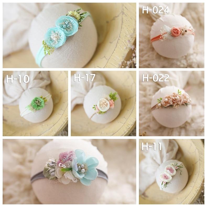 newborn headbands with flower baby princess lovely creative headwear headband photo shooting props hot-sell headbands