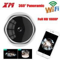 Fish Eye Camera 360 Degree WiFi Camera 1080P HD IP Camera Home Panoramic Wireless Smart Security