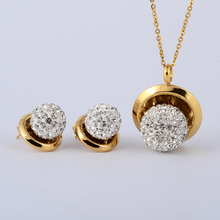 New Jewelry Sets Necklace Earrings African Maxi Statement Jewelry Wedding Bridal Pendant Dress Accessories