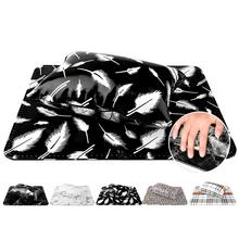 Leopard Stripe Faux Leather Nail Hand Pillow Carpet Cushion Pad Manicure Tools New Arrival