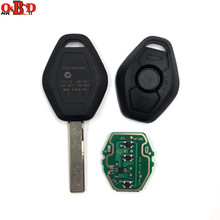 купить HKOBDII 433/315MHz Conversion 3 Buttons General Straight Remote Car Key FOR BMW X3 X5 EWS System онлайн