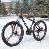 Steel 26 Inch 24s Mountain Bike 18 Inches Frame 1 95 Tire Men Women Student Bicycle
