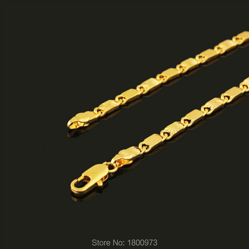 Necklace Gold Color...