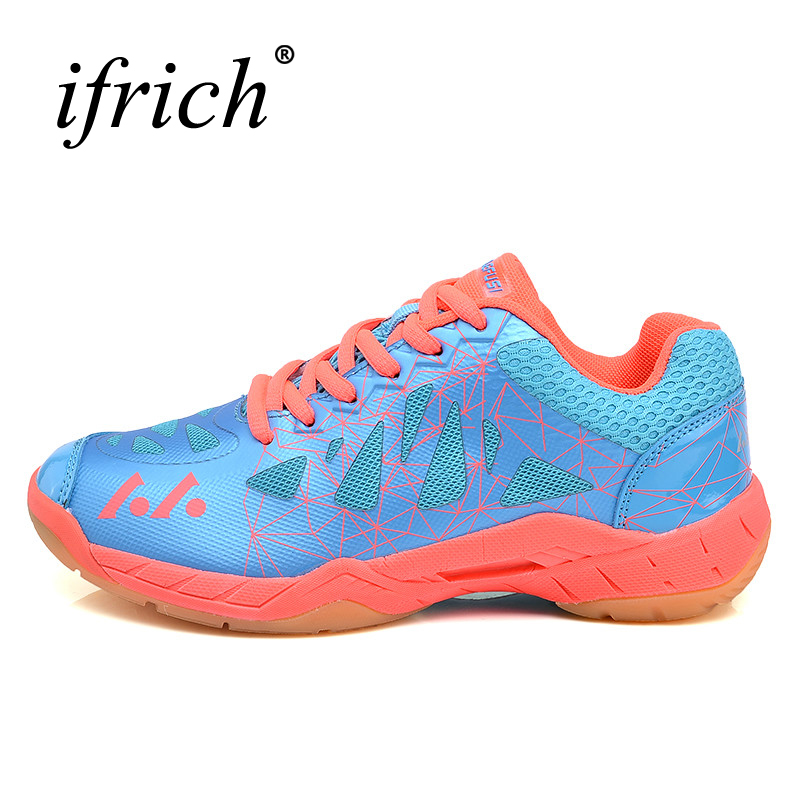 Men Badminton Shoes Hard-Wearing Badminton Women Trainers Anti-Slippery Girls Shoes Badminton Blue Green Badminton Shoes Men