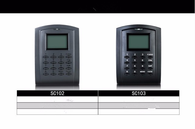 US $155 0  Good quality zk access control system, standalone access control  board, 13 56MHZ MF card IC card reader SC103/IC-in Fingerprint Recognition