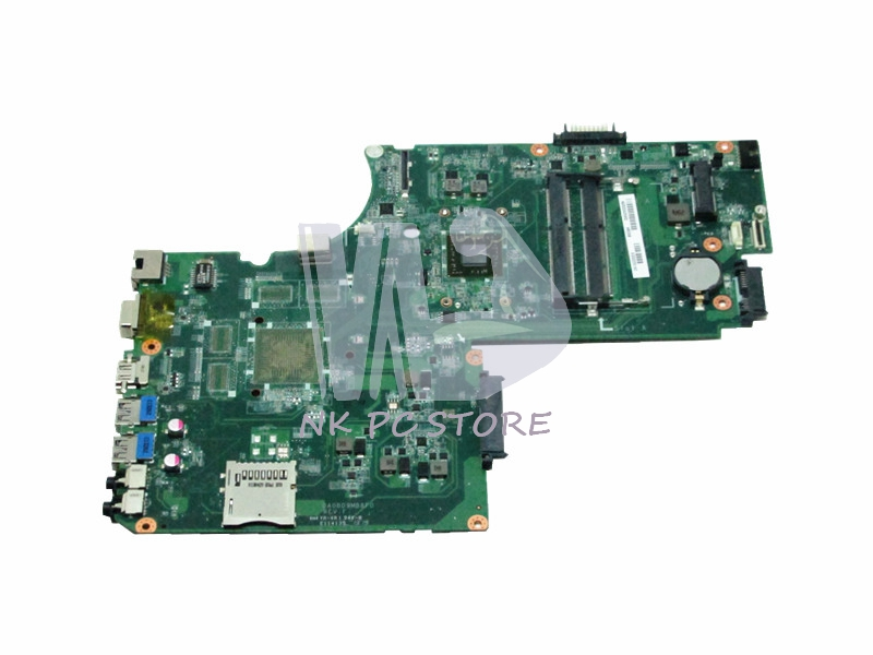New A000243960 Motherboard For Toshiba Satellite C75D L75 L75D Notebook Main Board / System Board A4-5000 CPU DDR3 DA0BD9MB8F0 574680 001 1gb system board fit hp pavilion dv7 3089nr dv7 3000 series notebook pc motherboard 100% working
