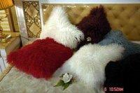 Free Shipping CX D 04/Z 50x50cm Custom Made Mongolia Lamb Fur Cushion Cover / Pillow