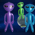 90CM Inflatable Alien Model For Children Science Teach Model Boys Inflatable Toys Birthday Gifts Party Souvenirs Board Game