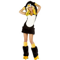 Black And Yellow Animal Costume Birds Carnival Costume Adult Women Cosplay Costume Halloween Fancy Dress W349008