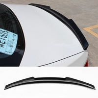M4 Style Carbon fiber Trunks Spoiler Fit For BMW E92 F30 F80 F82 F32 F36