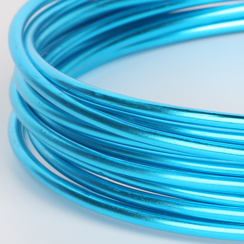 10m 5m 3m Aluminum Wire Soft Diy Jewelry Craft Versatile Painted P B Wiring Aluminium Metal Ni Pb Free 18 Gauge 1mm In Findings Components From