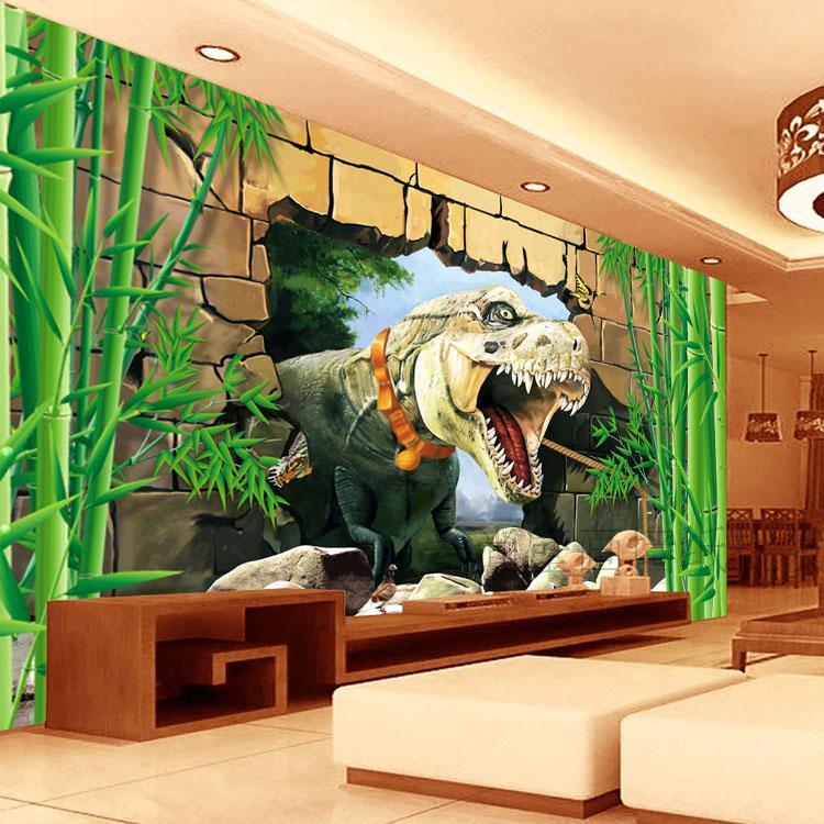 Free Shipping science fiction theme of children room amusement park restaurant mural wallpaper rushdie salman haroun and luka