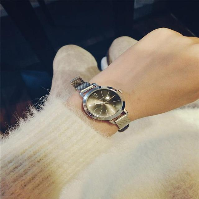 Watches women fashion watch 2018 luxury brand Quartz Watch lady Simple Exquisite Womens Watches Relogio Feminino Clock  #D