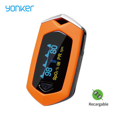 Yonker Medical Family Finger Pulse Oximeter Bloedsyre Mætning SPO2 Genopladeligt Pediatrisk Pulsoximeter Outdoor Sports