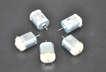 5PCS/ 130 Small DC motor 3 to 5V Miniature motor four-wheel motor small 17000-18000 RPM+(Gear package 5pcs)
