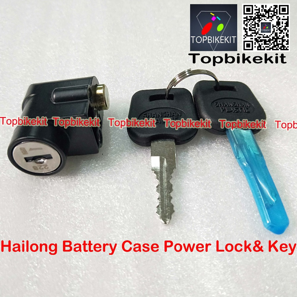 Sporting Goods Electric Bike Ignition Key On/Off Switch Go Power Keys E-bikes Battery Case Lock Electric Bicycle Components